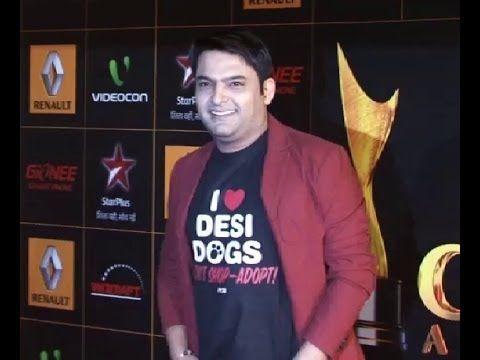 Kapil Sharma at Renault Star Guild Awards.