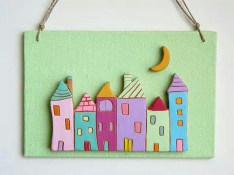 Ceramic houses