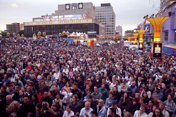 International Montreal Jazz festival Festival de Jazz de Montréal