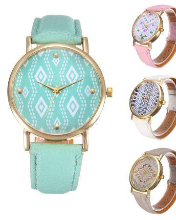 vintage-geometrical-watch-wrist-ρολόι-colorful