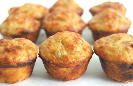 Spicy Jalapeño-Cheddar Mini Muffins | Breads, Buns, Biscuits & More ...