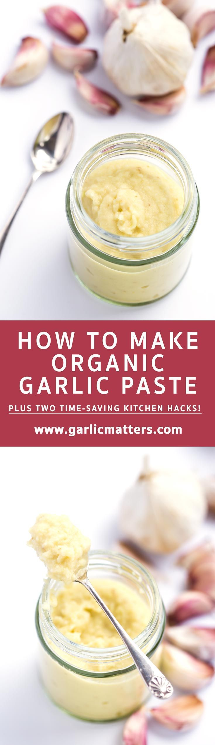 Learn how easy it is to make your own, organic garlic paste for cooking and save time and hassle with a useful kitchen hack! There is enough prep involving peeling, slicing, grating and chopping we…