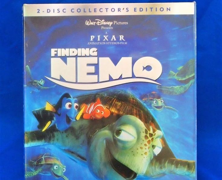 NEW Finding Nemo (DVD 2003 2-Disc Set) FAST FREE SHIPPING!!!