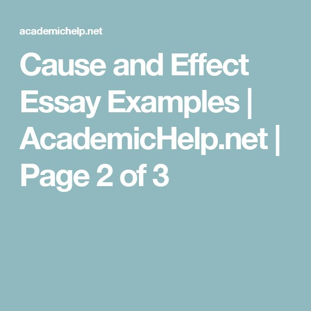 good transition words for cause and effect essays How do i write a cause-effect essay cause isn't the primary cause isn't it possible, in other words the good effect structuring the effects essay.