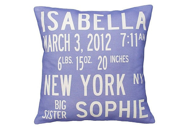 personalized announcement pillow: Baby Pillows, Births Announcements, Gifts Ideas, Baby Gifts, Cute Ideas, Personalized Announcements, Birth Announcements, Personalized Pillows, Announcements Pillows