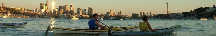 Kayak rentals in Seattle