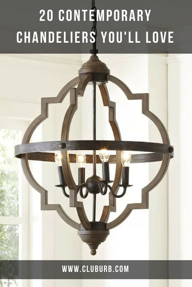 15 Best Modern Chandeliers For Dining Living Room 2020