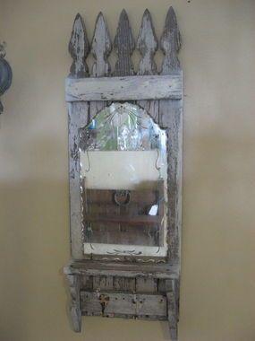 mirror mirror: Old Fence, Picket Fence