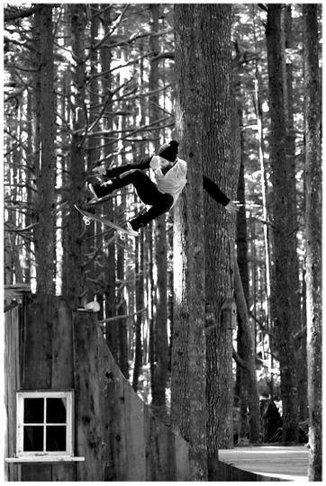 Chris Haslam, Kickflip - Mike Pepperdine photo