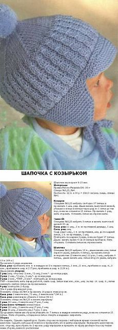 Вязаная спицами детская шапка. Схема вязания детской шапочки | Все о рукоделии: схемы, мастер классы, идеи на сайте labhousehold.com
