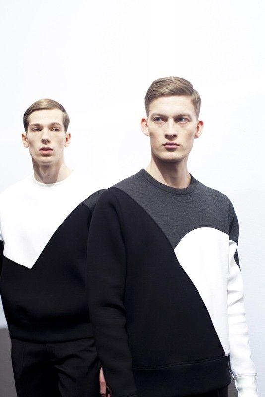 Modeconnect.com -  Monochrome menswear by Neil Barrett