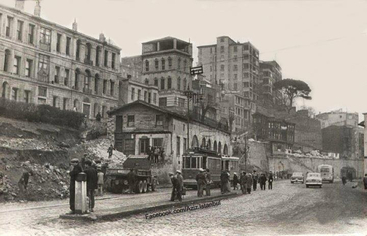 Kabataş, İstanbul. 1957