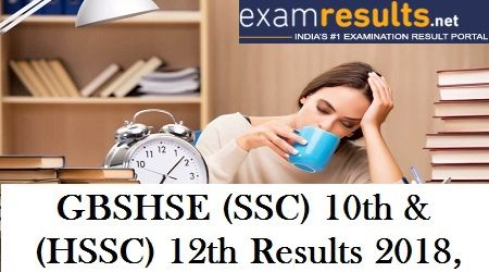 The Goa Board of Secondary and Higher Secondary Education has announced the examination dates for its SSC and HSSC exams for 2018.Students are requested to check their Goa SSC results and Goa HSSC Results on examresults.net