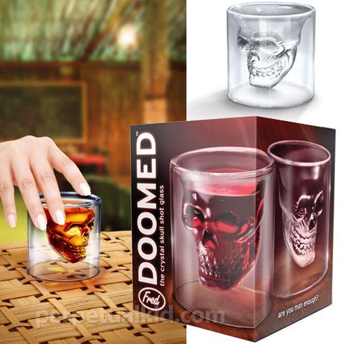 Salud!!!: Doom Crystals, Head Vodka, Gifts Ideas, Crystals Skull, Skull Shots, Shots Glasses, Vodka Shots, Shot Glasses, Skull Glasses