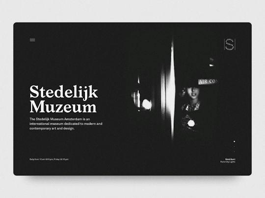 Stedelijk Muzeum - Loading animation