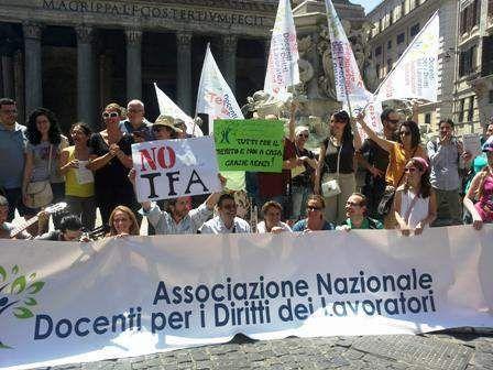 Scuola: primo successo in Tribunale per lAssociazione Nazionale Docenti per i Diritti dei Lavoratori gli ITP potranno partecipare al concorso