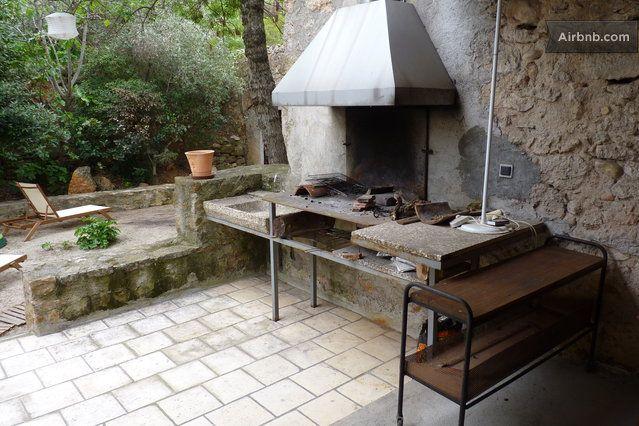In de buurt van Toulouse, 30min strand, geen zwembad Barbecue space in the courtyard