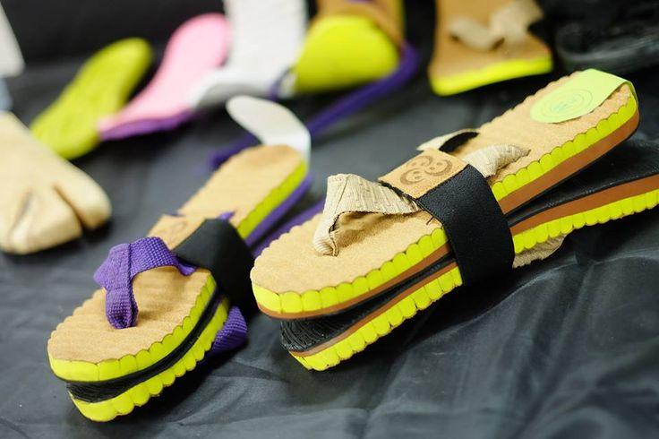 photos by Baskoro Junianto.  Final project phylon waste sandals Matthew Nazlie