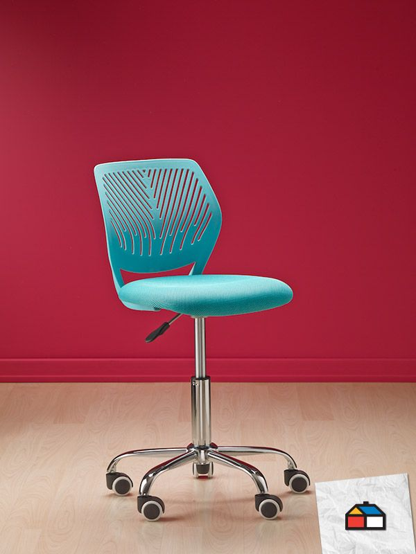 Encuentra aquí http://www.homecenter.com.co/homecenter-co/browse/productDetail.jsp?productId=238354&skuId=238354&_requestid=291308 tu silla para escritorio sin brazos color turqueza