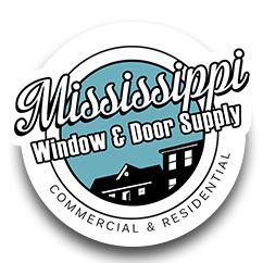 Updated logo design and website... We helped convert the name from ClearView Windows & Doors, to Mississippi Window & Door Supply: http://mswindowdoor.com/