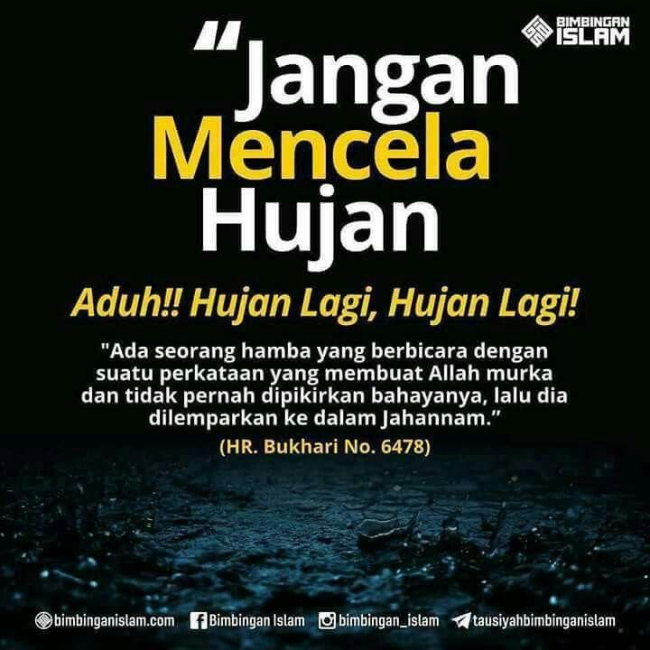 Kata Bijak Tentang Hujan Dalam Islam
