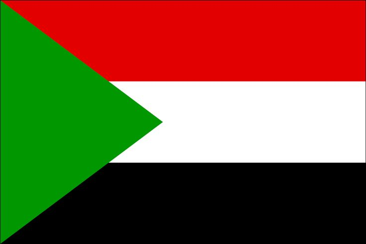 sudan flag | Flag of Sudan | Sudan | Sudan Flag.  Anglo-Egyptian condominium until 1956.