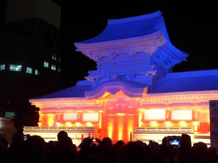 札幌雪祭り2月