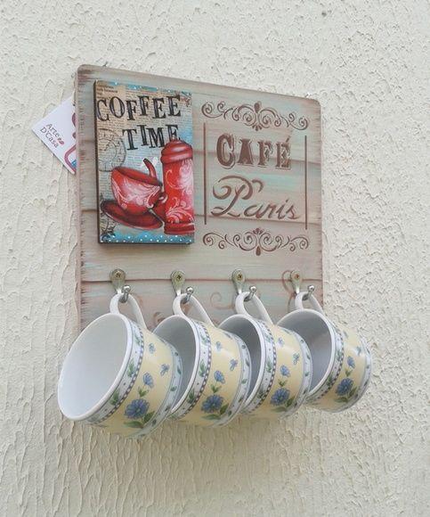 Dia dos Namorados - Porta Xícaras Café