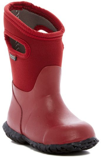 88183c20dfcc Bogs Durham Solid Waterproof Rain Boot (Toddler