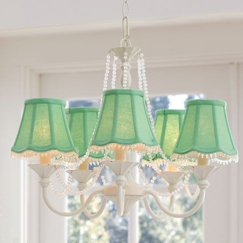 Vintage Iron Chandelier, Hardwired with CFL Bulb