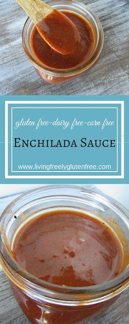 Enchilada Sauce (Gluten Free, Corn Free) - Living freely gluten free