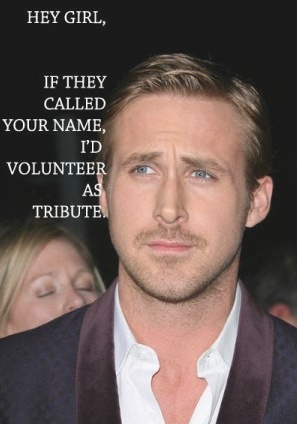 Hey Girl AND a Hunger Games reference...this is too good!
