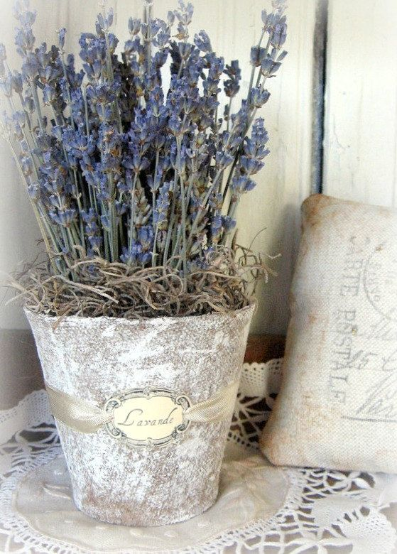 french lavender bouquets | French Country Lavender Bouquet by timewashed on Etsy for the steps