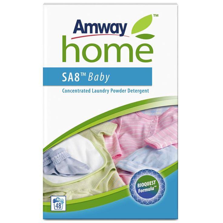 Концентрированный стиральный порошок для детского белья Амвей SA8 Baby дешево купить в интернет-магазине Амвей с бесплатной доставкой в Тюмени.