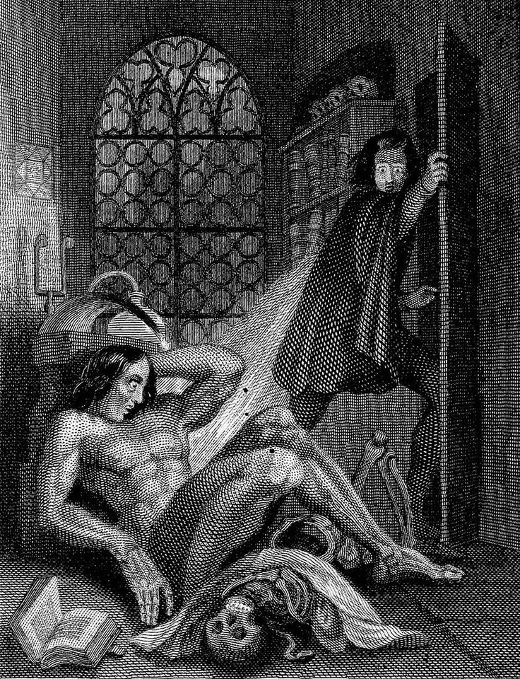 the suffering of frankenstein Frankenstein's science : experimentation and discovery in romantic culture,   sufferings of animals, but also responded to long-standing, religiously motivated.