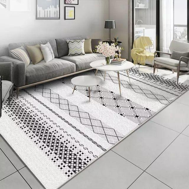 Tienda Online Alfombras nórdicas de patrón geométrico Simple