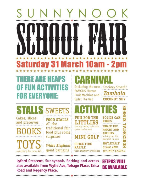 Sunnynook Primary School Fair