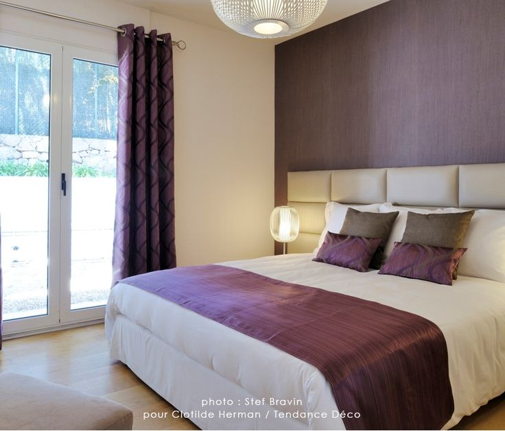 Chambre Violette Et Grise Great Dcoration Chambre