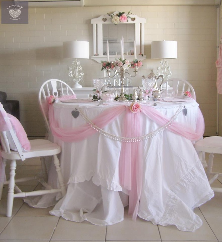 17 Best Images About Beautiful Romantic Table Settings On