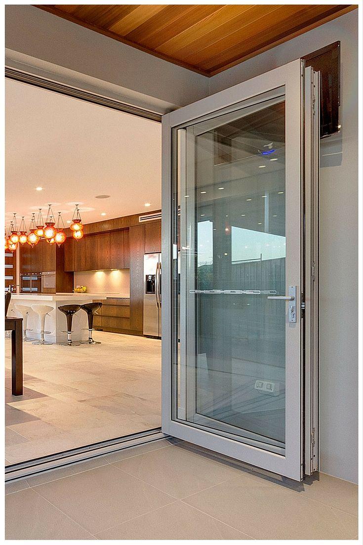 Wideline bi-fold doors. Home by Buildcraft constructions. www.wideline.com.au
