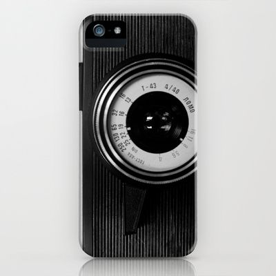 Lomo Camera Cosmic Symbol iPhone Case by cfortyone - $35.00