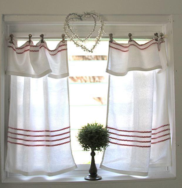 17 Best ideas about Red Kitchen Curtains on Pinterest | Kitchen ...
