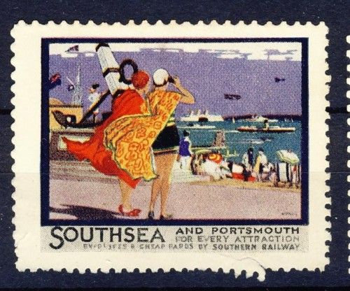 1930s Southsea #Stamp