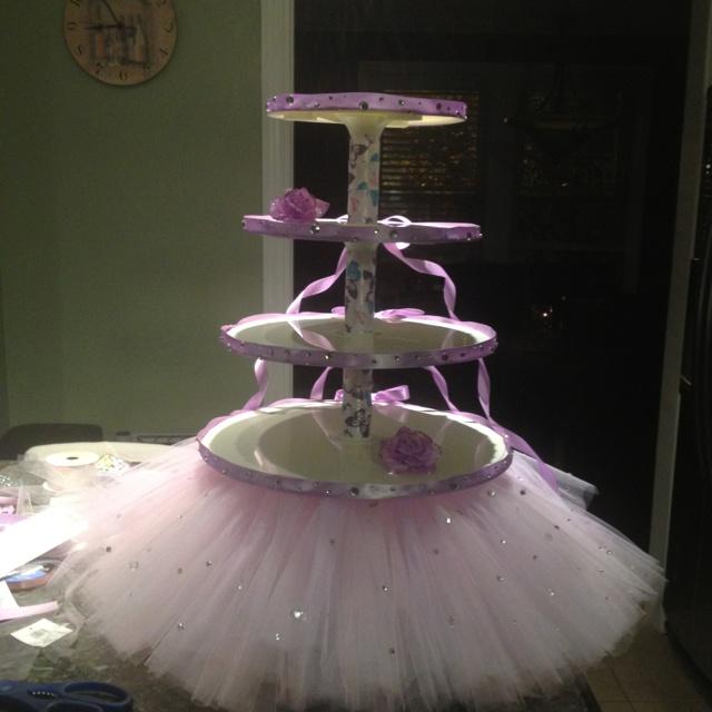 Princess Cupcake Stand Princess Cupcakes Diy Party