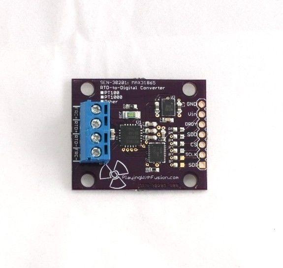Details about MAX31865 RTD to Digital Converter, PT100 / PT500