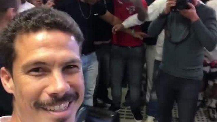 De volta ao São Paulo, Hernanes se diz mais ofensivo e agradece apoio da torcida