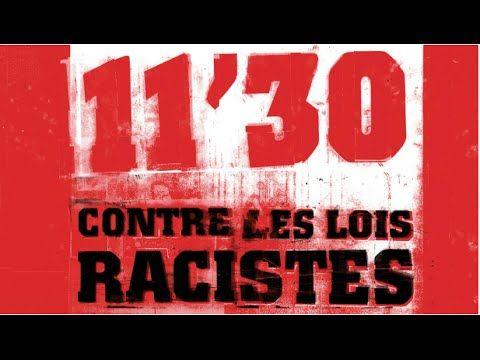 ▶ 11'30 contre les lois racistes- Akhenaton / Freeman/ Mystik / Assassin / Fabe / Passi / Stomy - YouTube