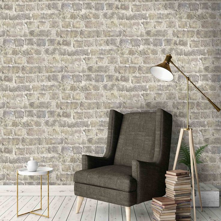 Cornish Stone Effect Wallpaper From B Q: Best 25+ Brick Effect Wallpaper Ideas On Pinterest