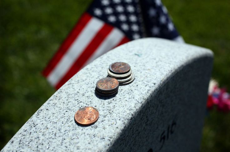 Pennies serve as a salute to vets at national cemetery (photos) | cleveland.com