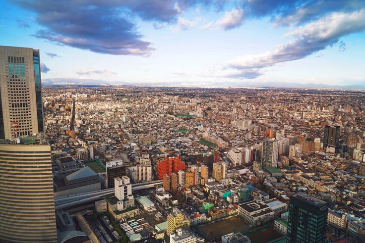 Tokyo Skyline and Mount Fuji .. | Traveling Lens Photography